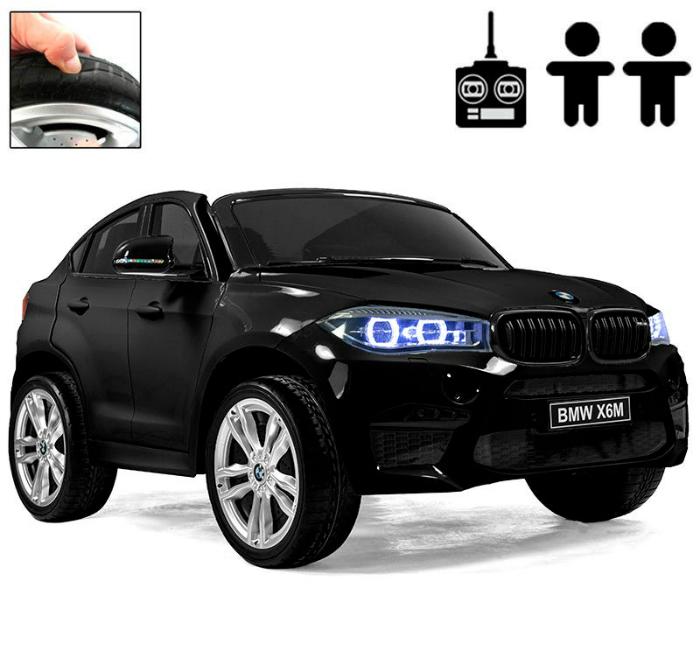 Elbil BMW X6 M-Sport Svart