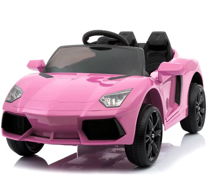 Elbil Sportbil Rosa