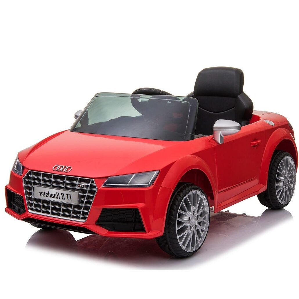 Elbil Audi TT S Roadster, Röd