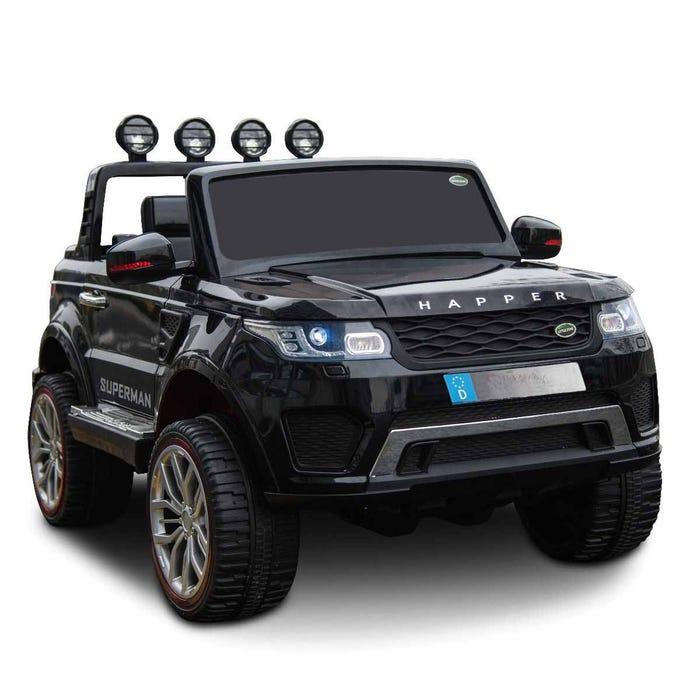 Elbil Pickup 4WD 12V Svart