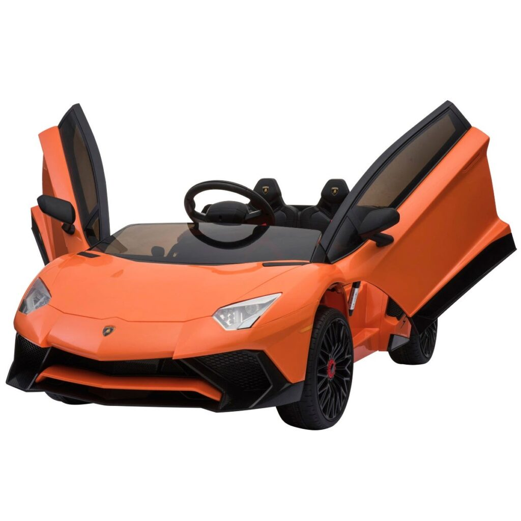 Elbil Lamborghini Aventador, Orange