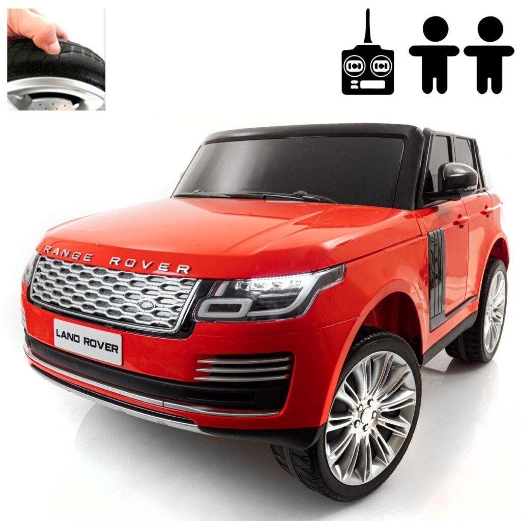 Elbil Land Rover Range Rover 4WD, Röd