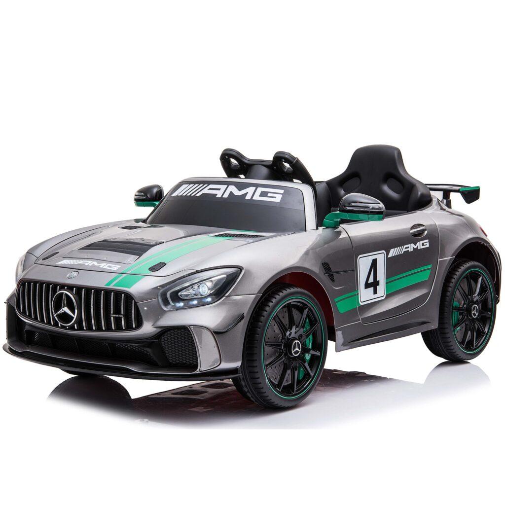Elbil Mercedes AMG Silver 12v