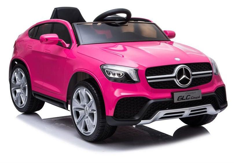 Elbil Mercedes GLC Coupé 12v, Rosa