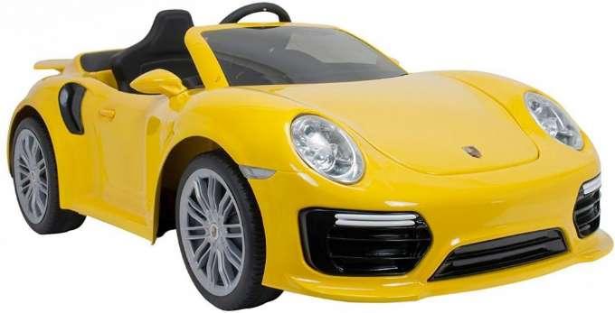 Elbil Porsche 911 Turbo, Gul