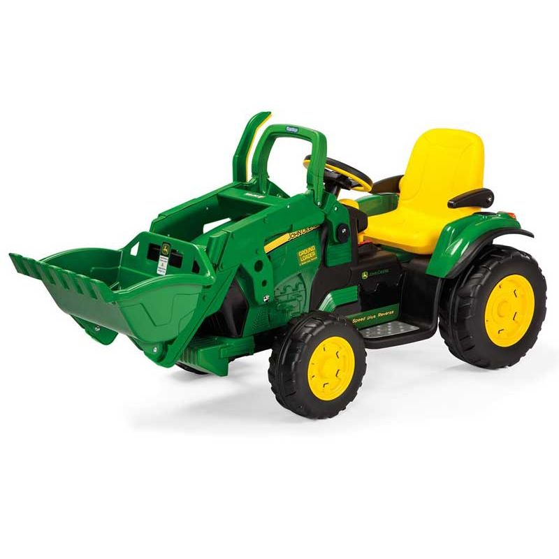 Eltraktor John Deere Ground Loader 12v