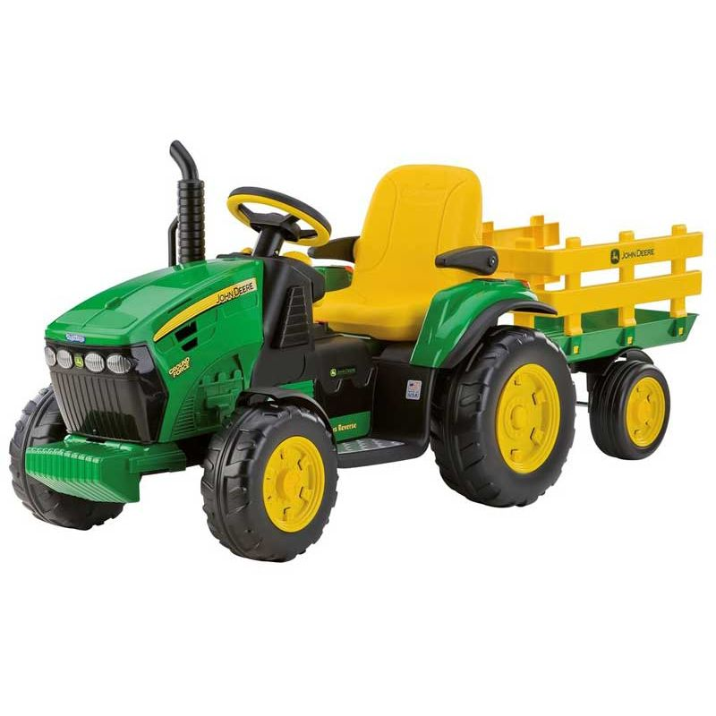 Elbil John Deere Ground Force 12v